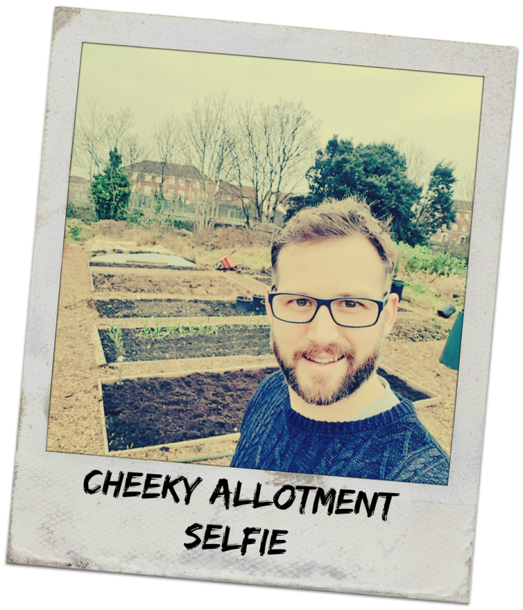 cheeky-allotment-selfie