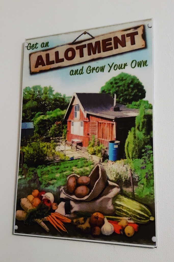 Allotment sign