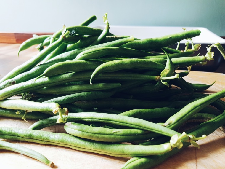 Climbing French beans and freezing the snakes – Sharpen your