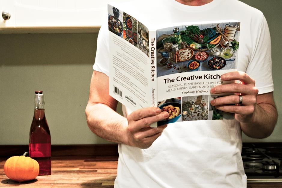 Creative Kitchen Feature book