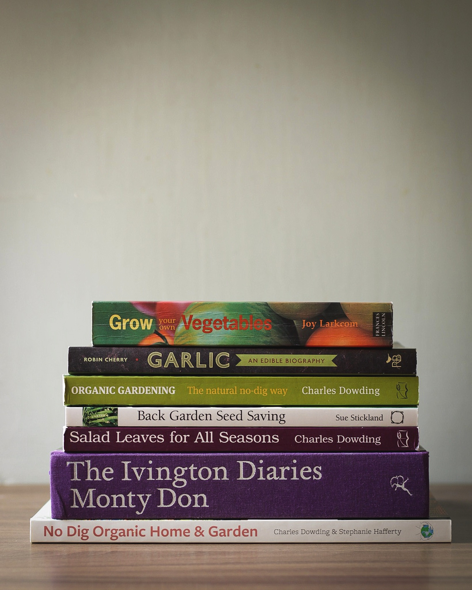 My favourite gardening books